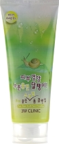 Скраб для лица 3W Clinic экстрактом улитки Pure Clean Scrub Foam Cleansing Snail Mucus, 180 мл